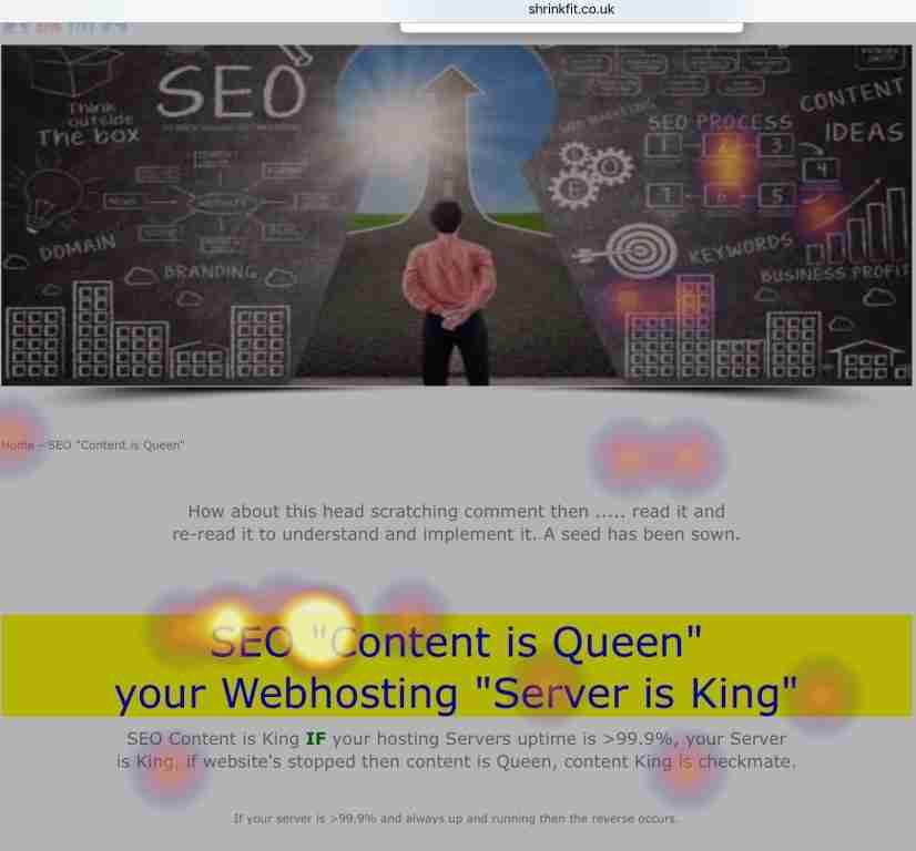 SEO Content is Queen Traffic