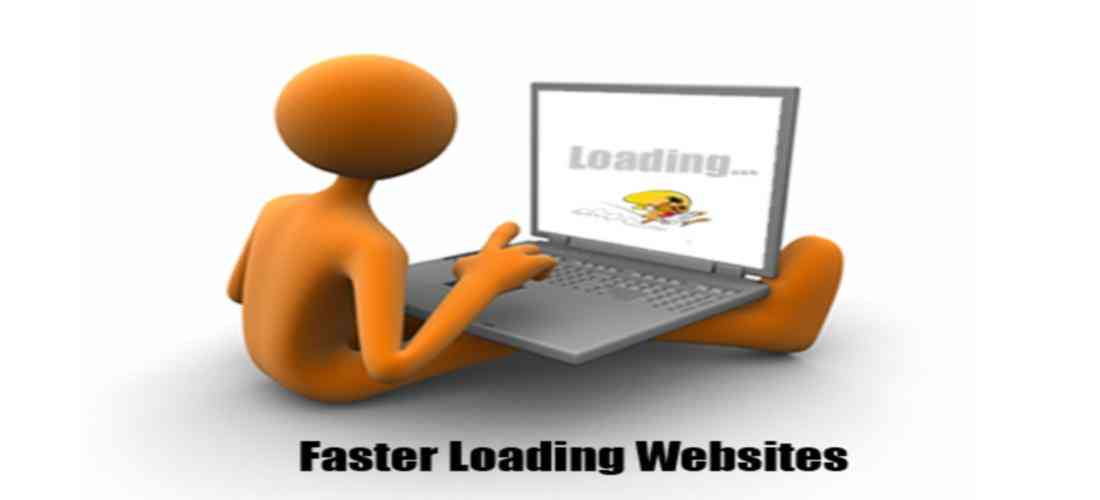 fast loading website is huge